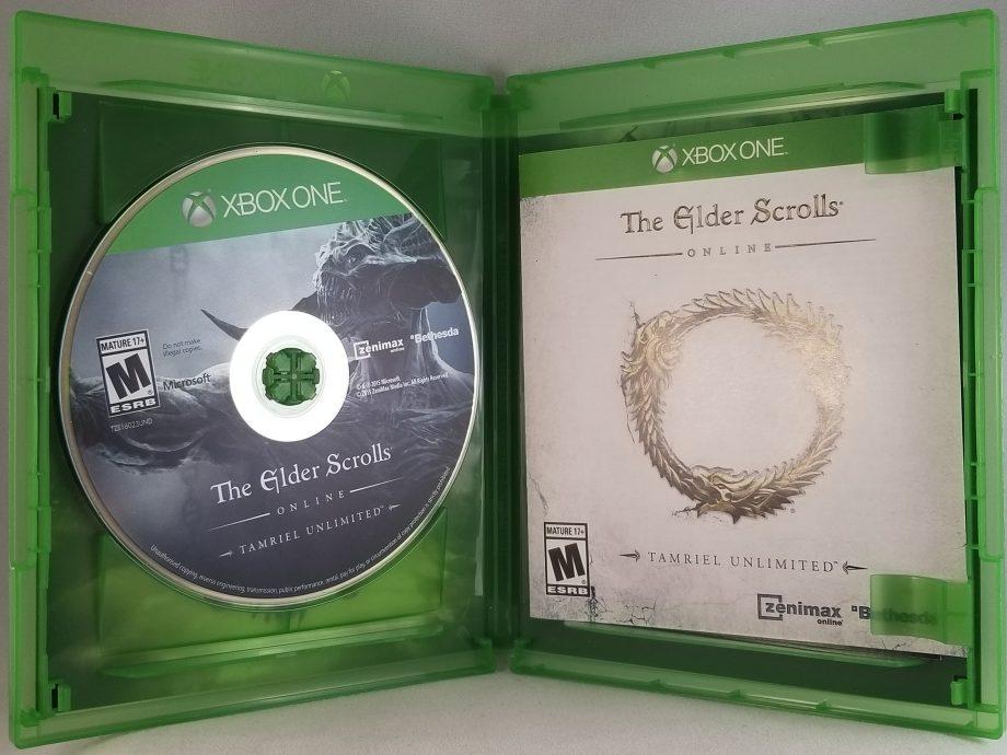 The Elder Scrolls Online Tamriel Unlimited Disc