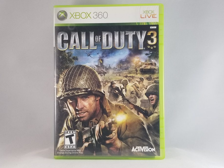 Call Of Duty 3 Front