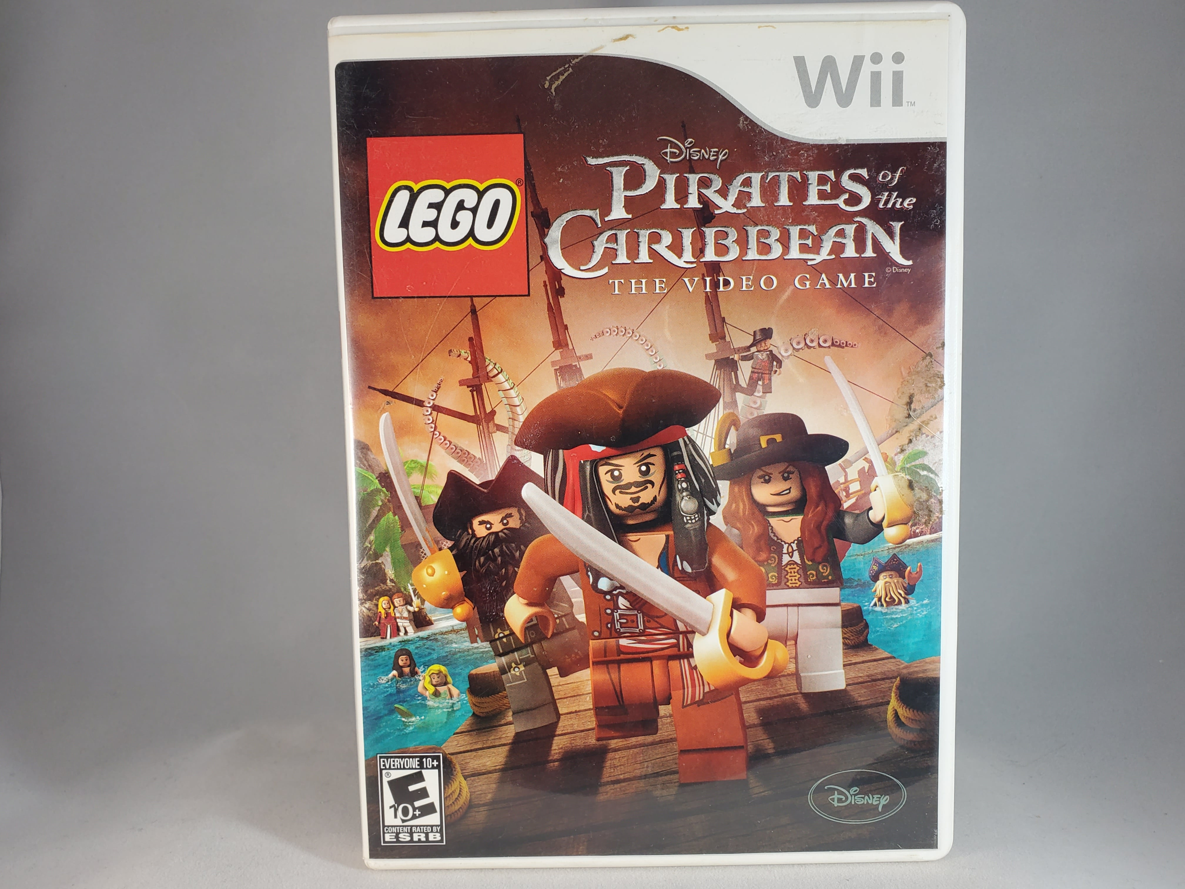 Nintendo Wii LEGO Pirates Of The Caribbean The Video Game
