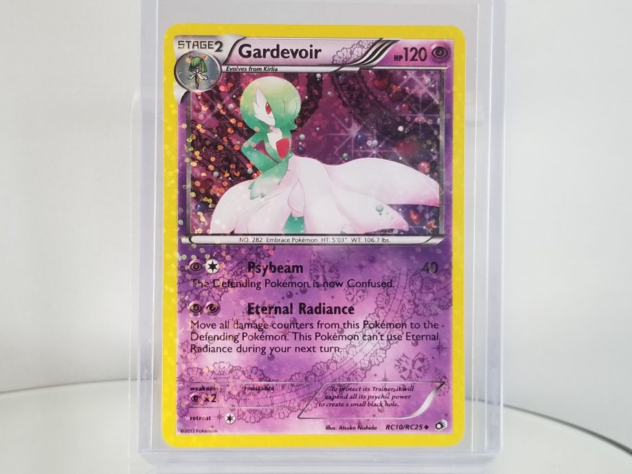 Legendary Treasures Radiant Collection RC10/RC25 Uncommon Holo Gardevoir Front