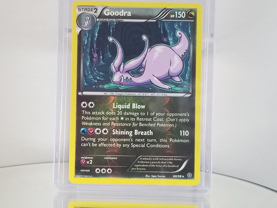 XY Ancient Origins 60/98 Super Rare Holo Goodra Front