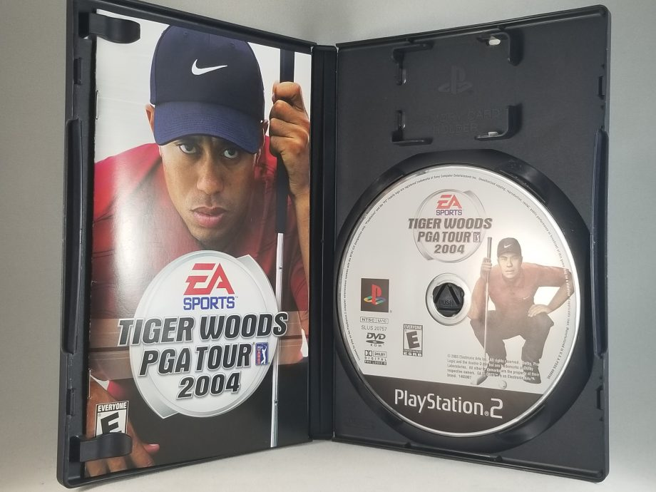 Tiger Woods 2004 Disc