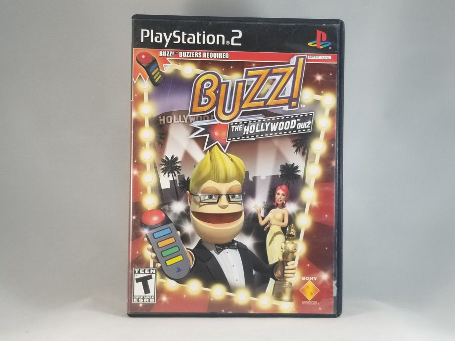 Buzz! The Hollywood Quiz Bundle Front