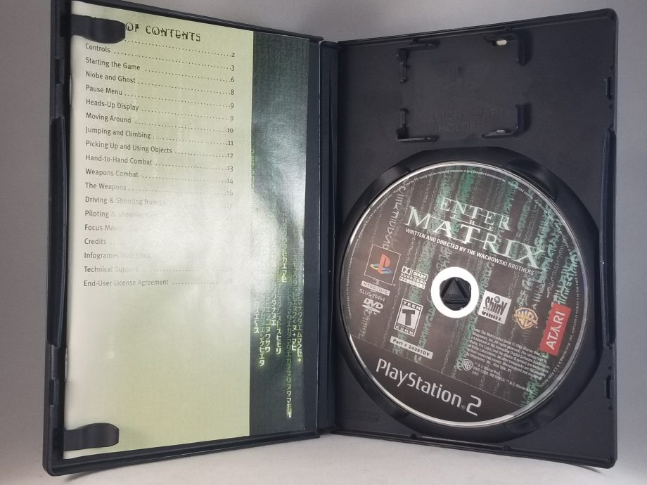 Enter The Matrix Disc