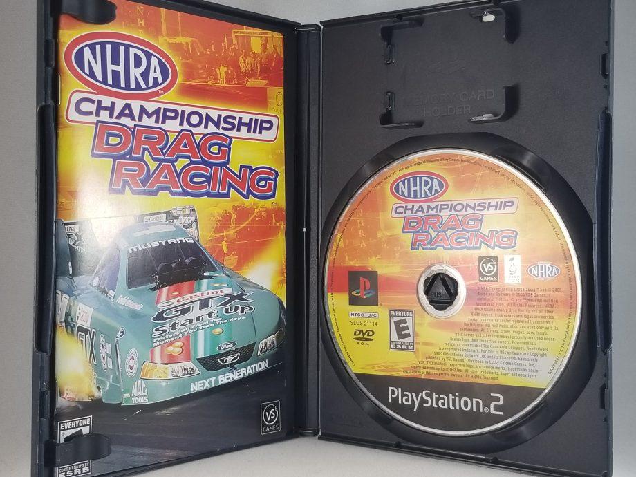 NHRA Championship Drag Racing Disc