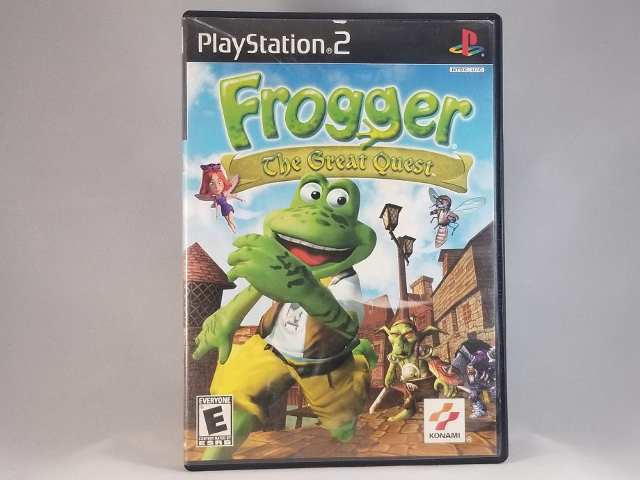 Frogger The Great Quest Front