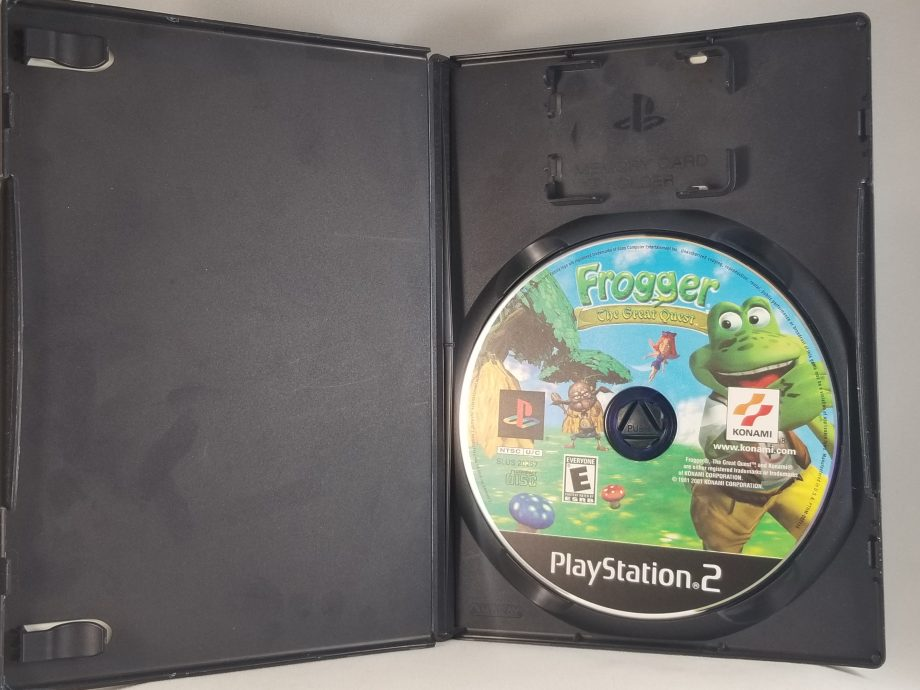 Frogger The Great Quest Disc