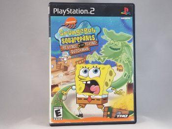SpongeBob SquarePants Revenge Of The Flying Dutchman Front