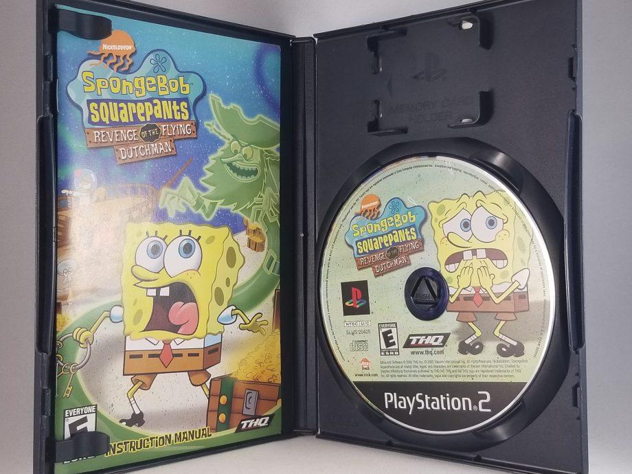 SpongeBob SquarePants Revenge Of The Flying Dutchman Disc