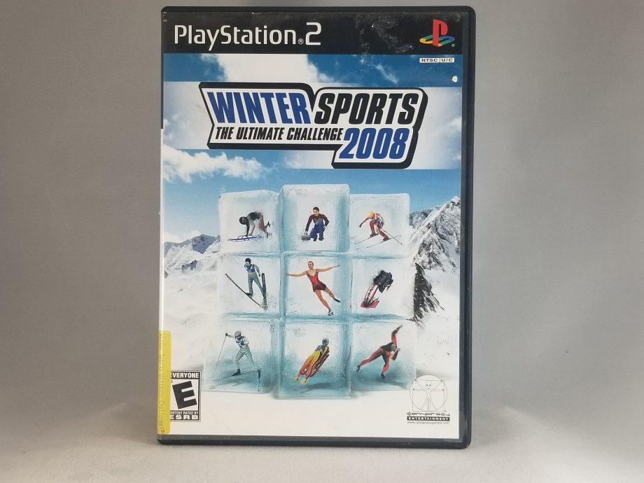 Winter Sports The Ultimate Challenge 2008 Front