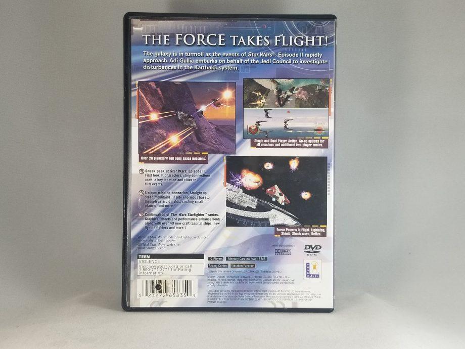 Star Wars Jedi Starfighter Back