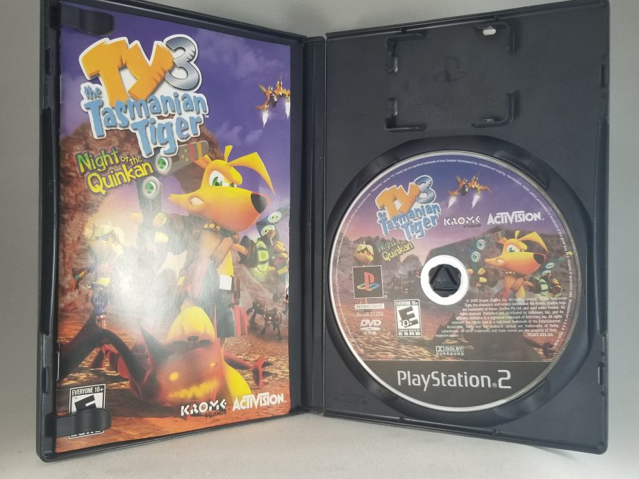 Ty The Tasmanian Tiger 3 Night Of The Quinkan Disc