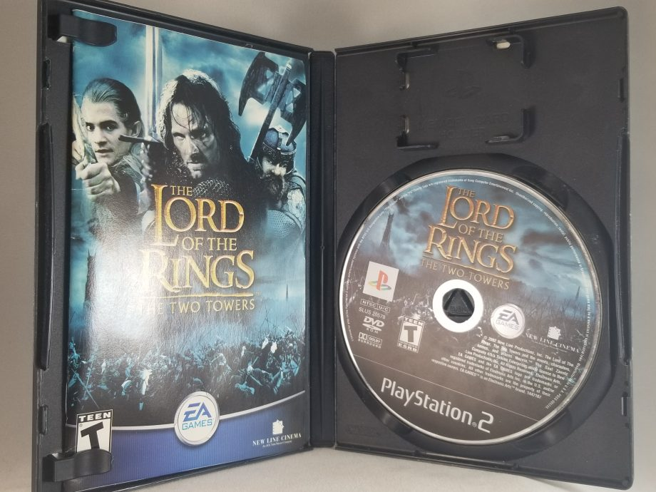 Lord Of The Rings The Two Towers Disc