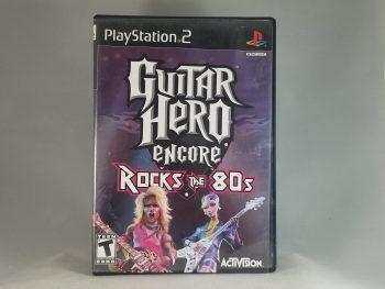 Guitar Hero Encore Rocks The 80's Front