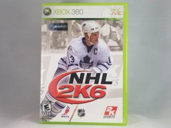 NHL 2K6 Mats Sundin Cover Front