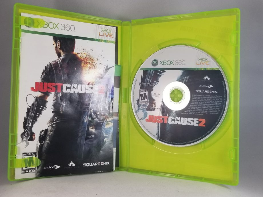 Just Cause 2 Disc
