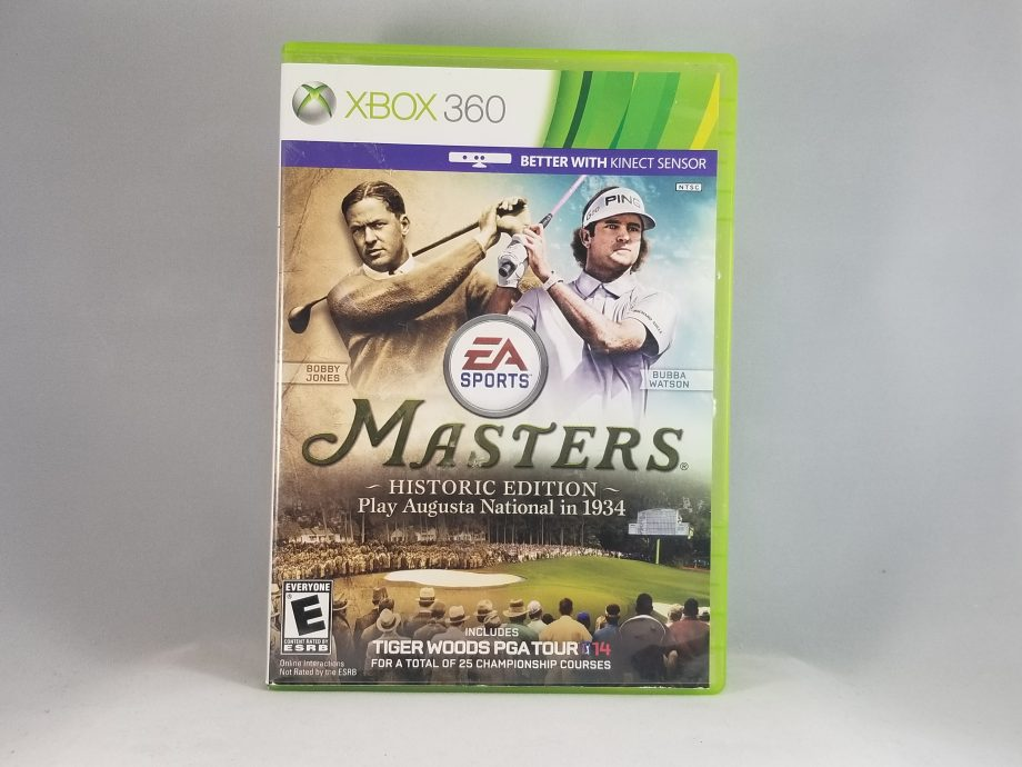 Tiger Woods PGA Tour 14 Masters Historic Edition Front