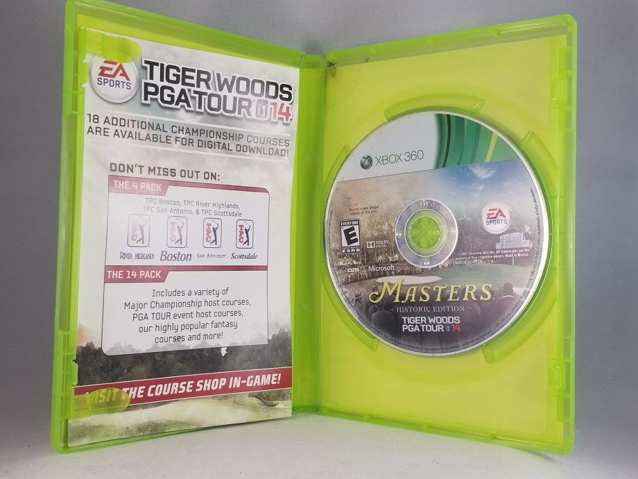 Tiger Woods PGA Tour 14 Masters Historic Edition Disc