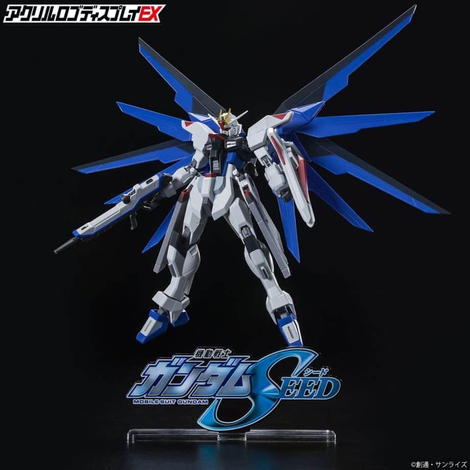 Gundam Seed Symbol Logo Display Pose 2