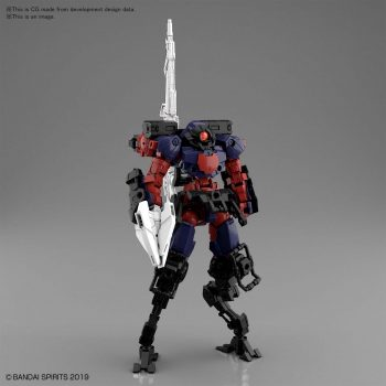 Portanova Space Type Dark Purple Pose 1