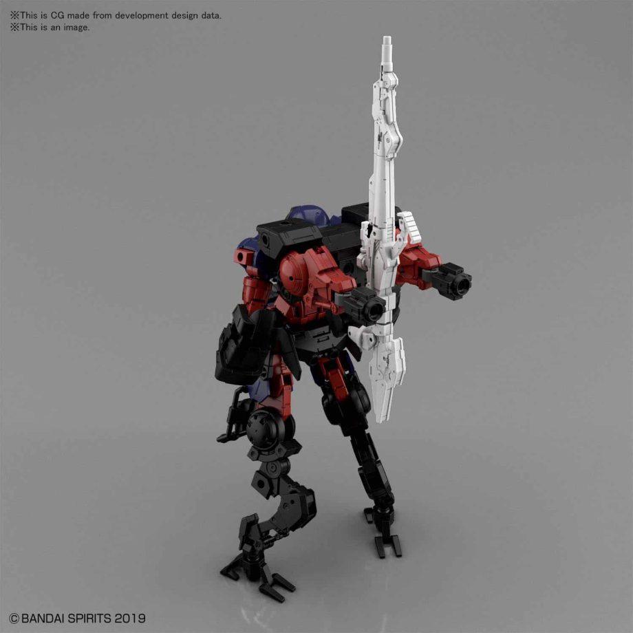 Portanova Space Type Dark Purple Pose 3