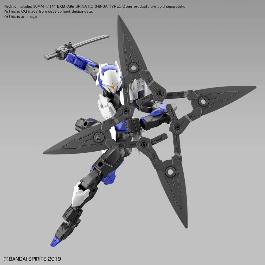 Spinatio Ninja Type Pose 7