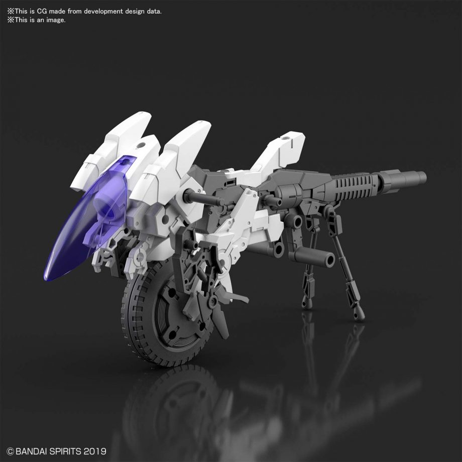 Extended Armament Vehicle Cannon Bike Pose 2