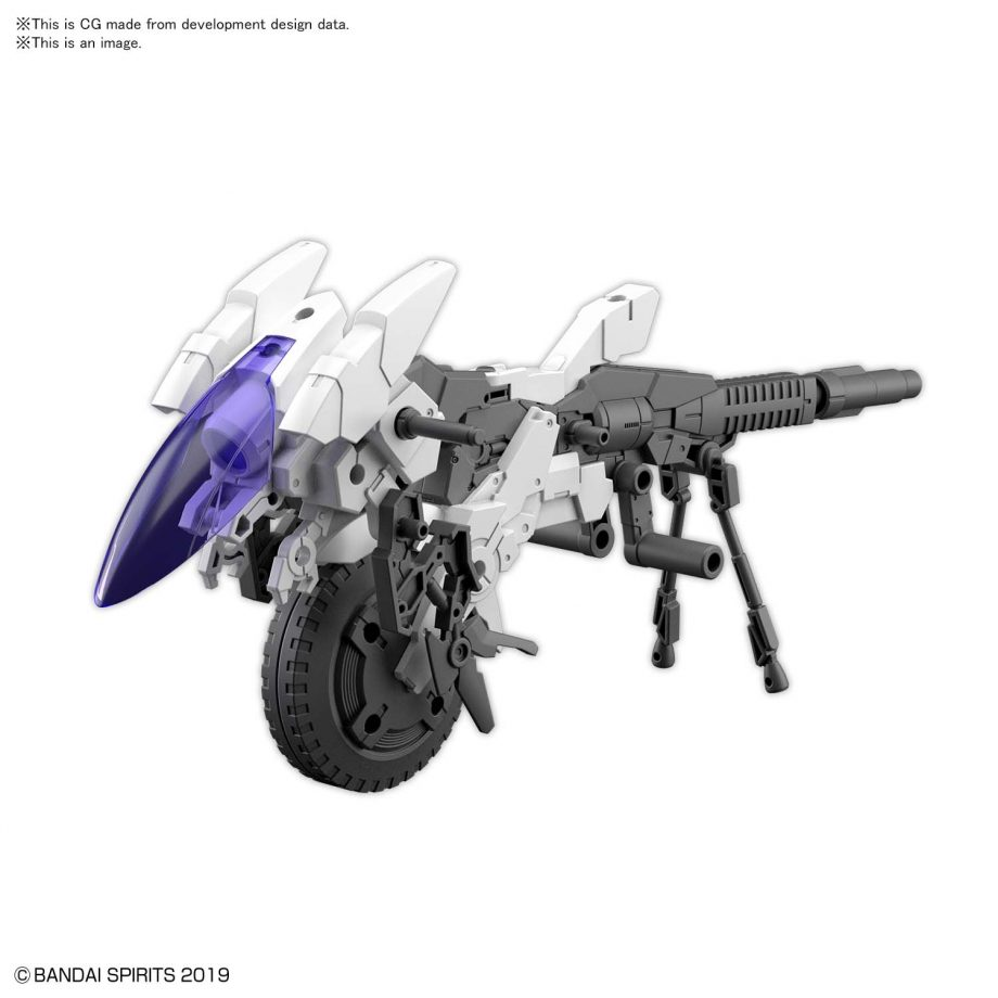 Extended Armament Vehicle Cannon Bike Pose 3