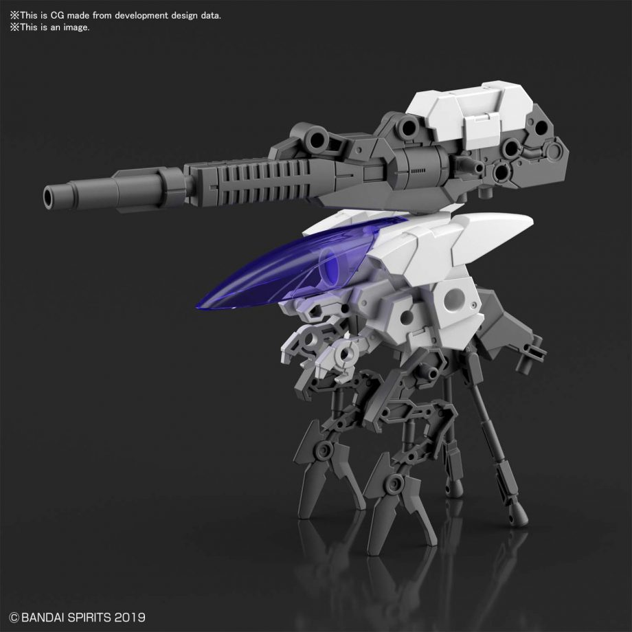 Extended Armament Vehicle Cannon Bike Pose 5