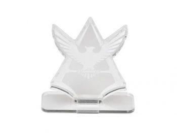 Char's Symbol Logo Display Pose 1