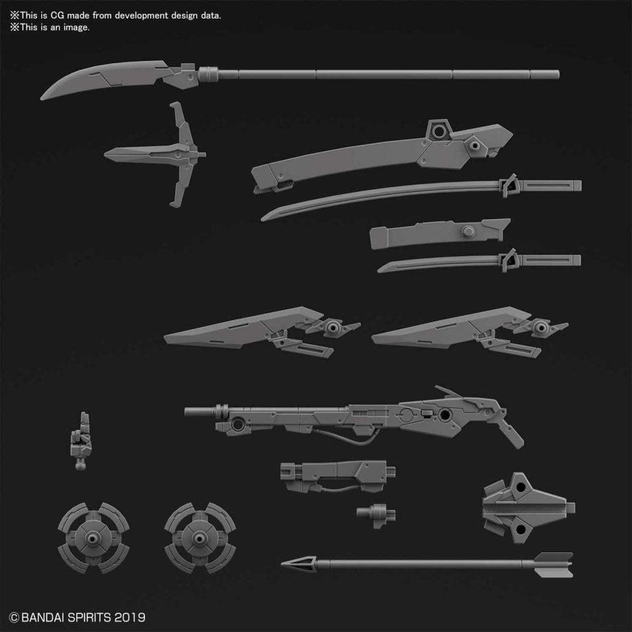 Customize Weapons Sengoku Army Pose 1