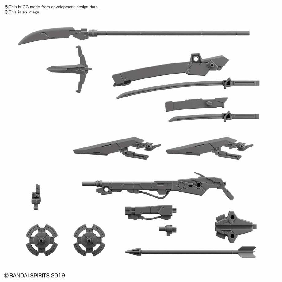Customize Weapons Sengoku Army Pose 2