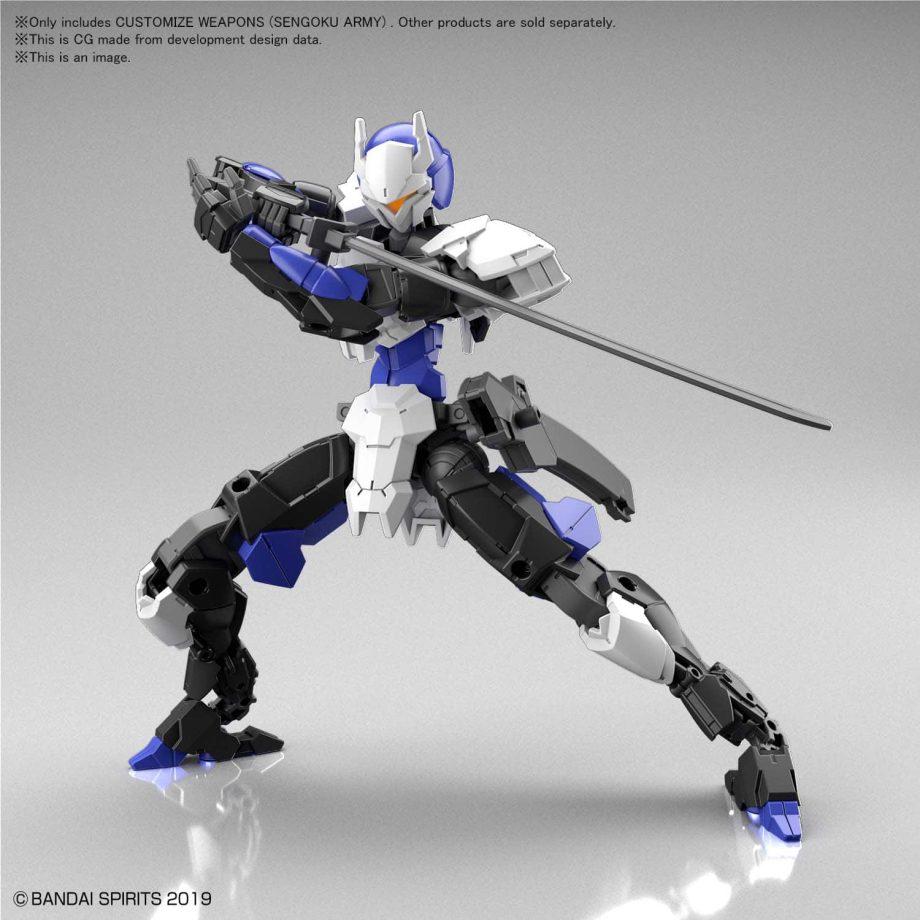 Customize Weapons Sengoku Army Pose 3