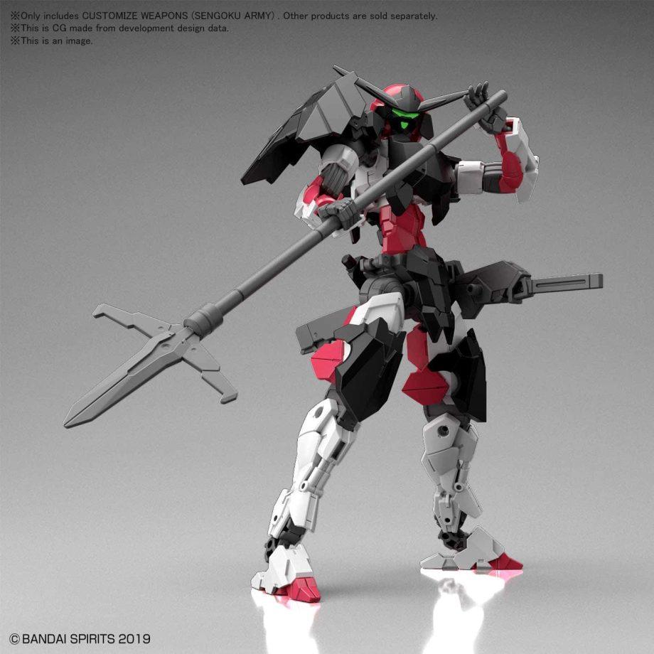 Customize Weapons Sengoku Army Pose 4