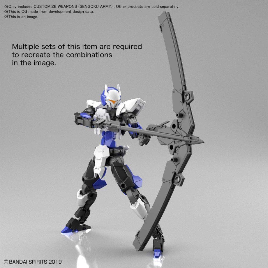 Customize Weapons Sengoku Army Pose 5