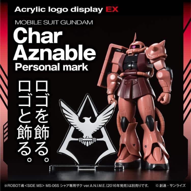 Char's Symbol Logo Display Pose 2