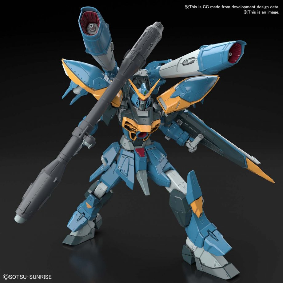 Full Mechanics 1/100 Calamity Gundam Pose 4
