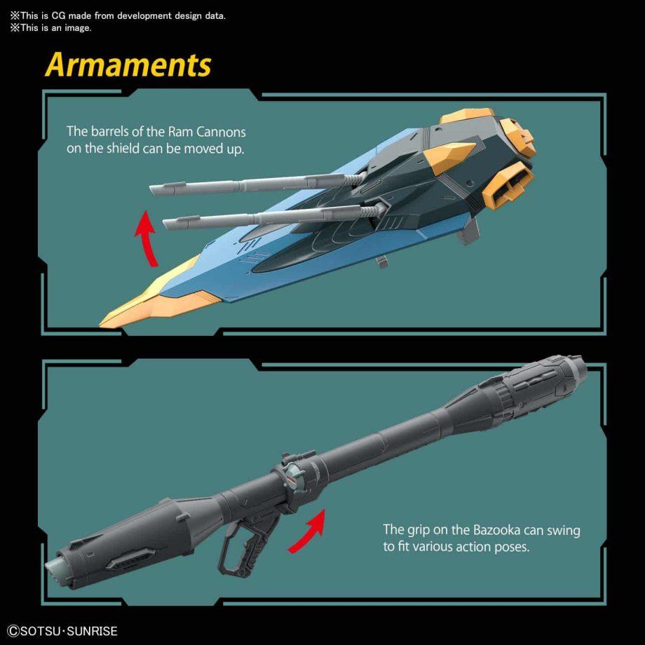 Full Mechanics 1/100 Calamity Gundam Pose 10