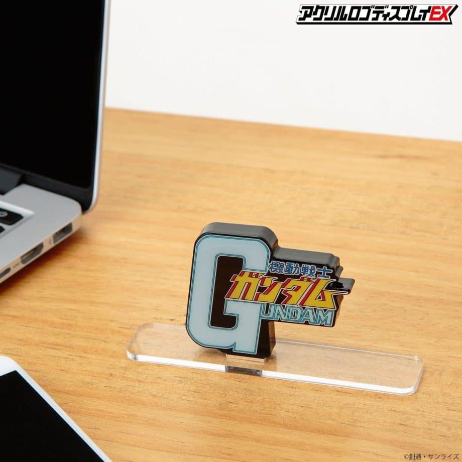 Gundam Symbol Logo Display Pose 3