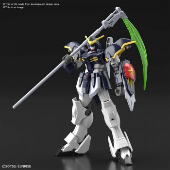 High Grade Gundam Deathscythe Pose 1