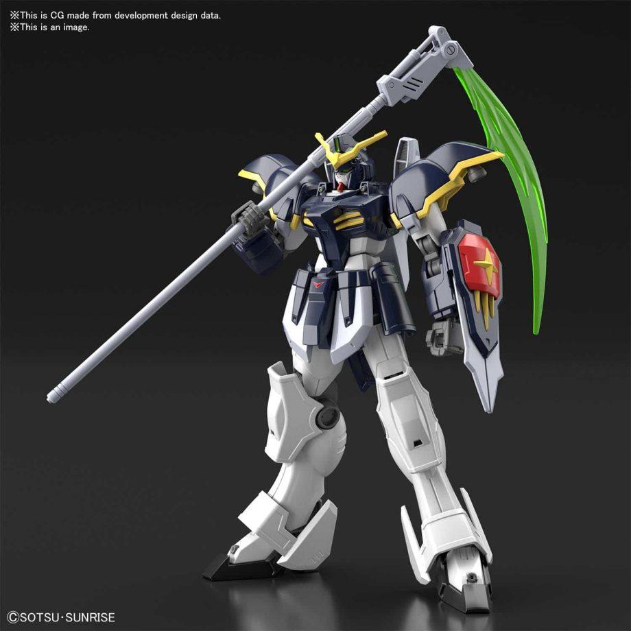 High Grade Gundam Deathscythe Pose 1