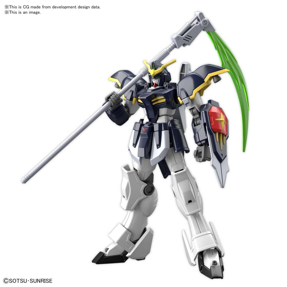 High Grade Gundam Deathscythe Pose 2