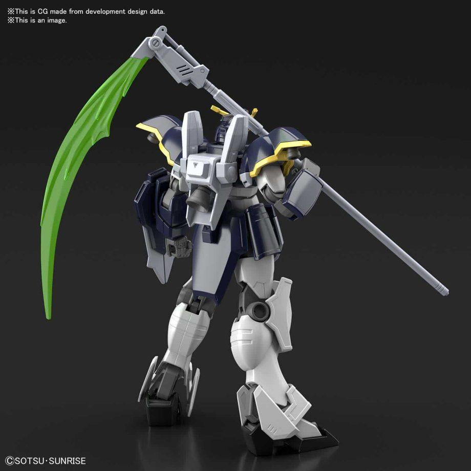 High Grade Gundam Deathscythe Pose 3