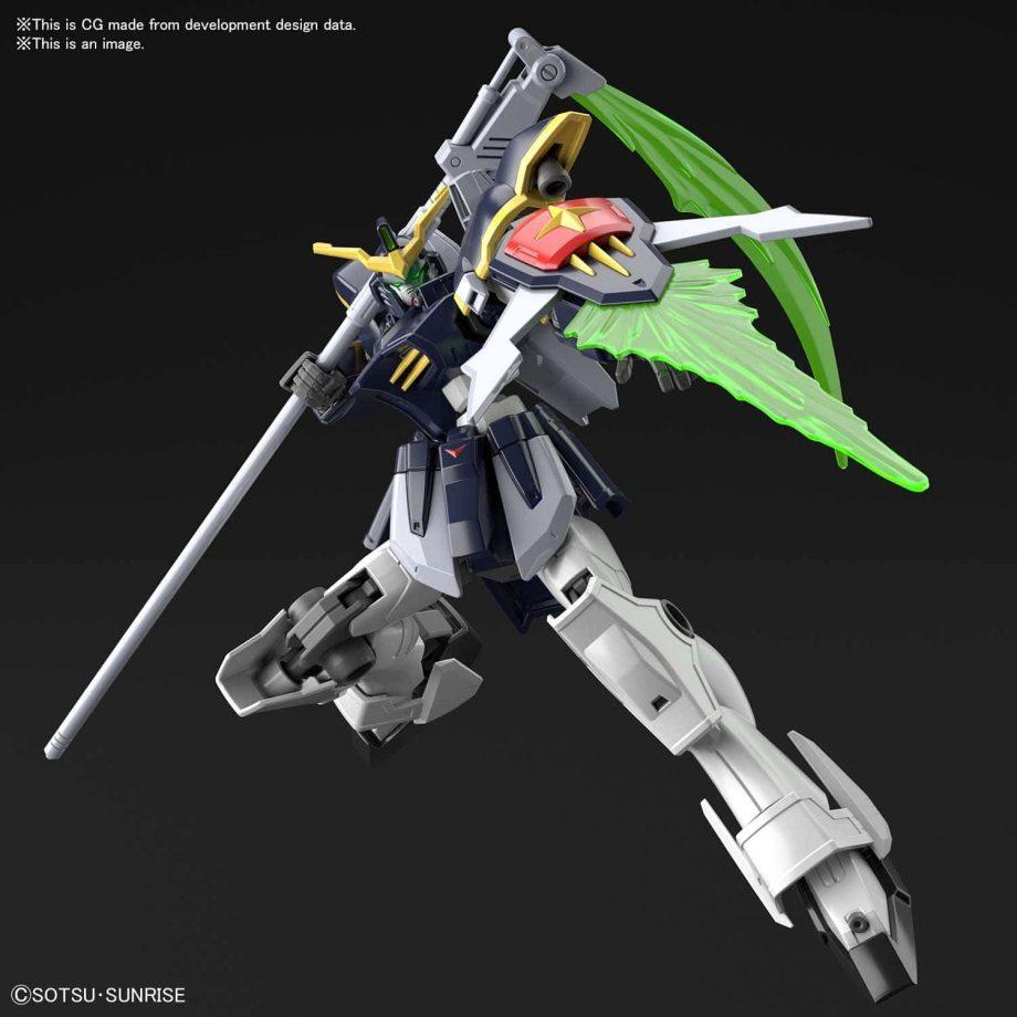 High Grade Gundam Deathscythe Pose 4