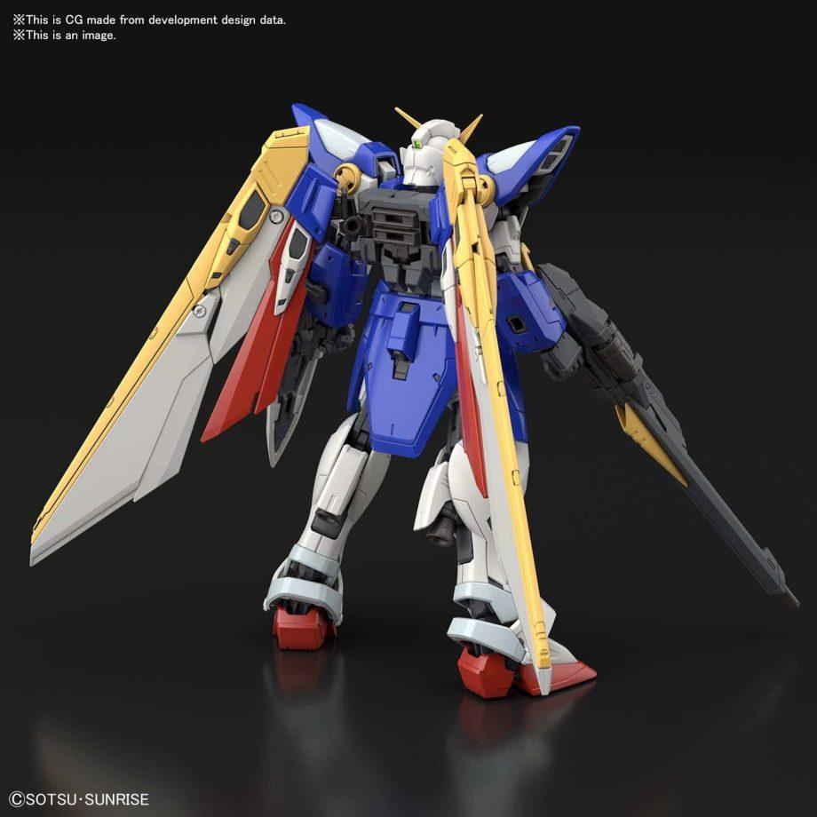 1/144 Real Grade Wing Gundam Pose 3