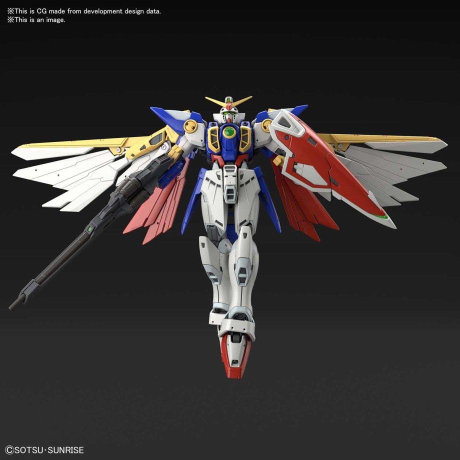 1/144 Real Grade Wing Gundam Pose 5