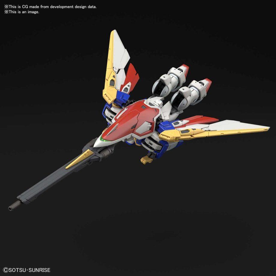 1/144 Real Grade Wing Gundam Pose 6