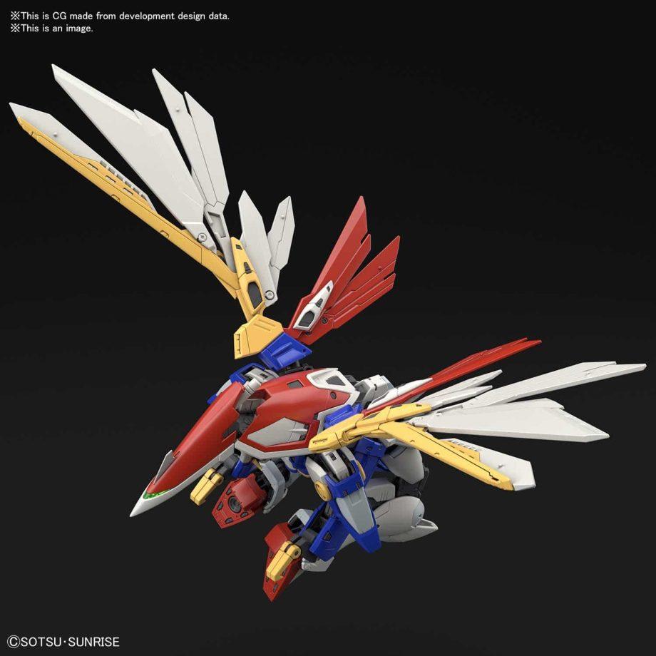 1/144 Real Grade Wing Gundam Pose 7