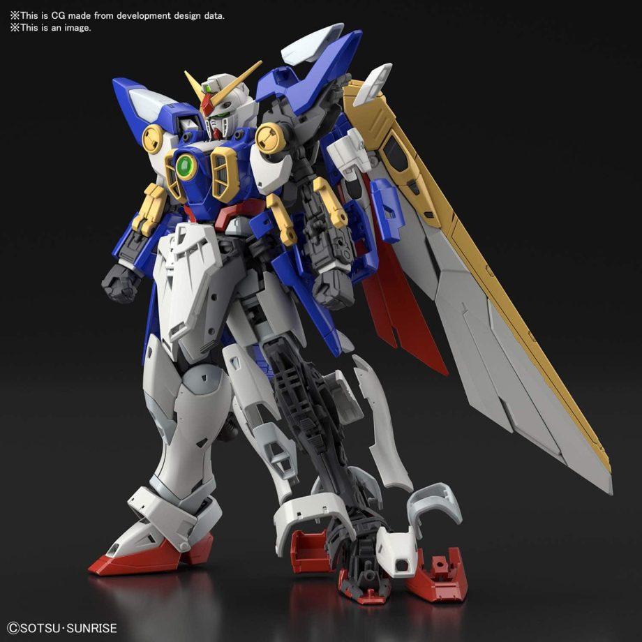 1/144 Real Grade Wing Gundam Pose 8