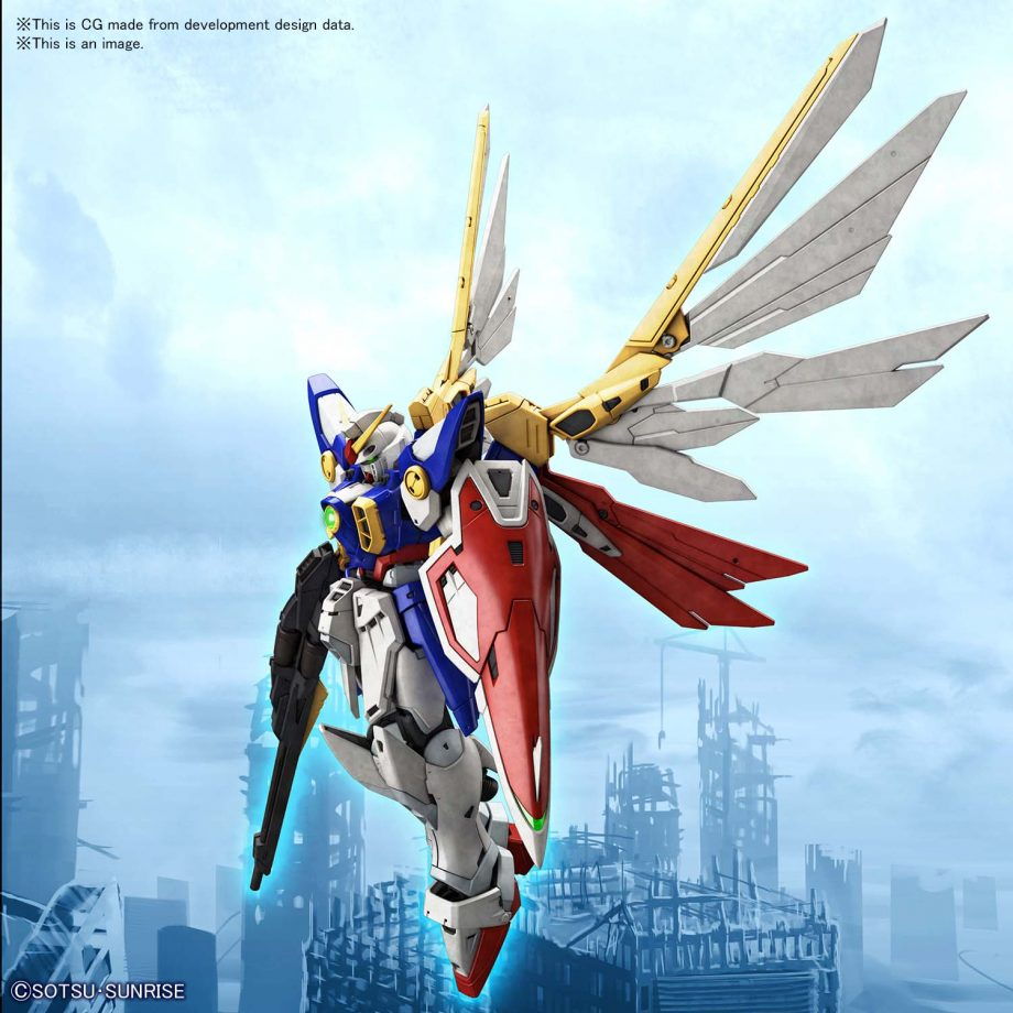 1/144 Real Grade Wing Gundam Pose 12